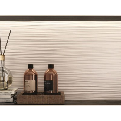 Piastrella ABK Serie Do Up Touch base 30x120 bianca effetto CONTEMPORARY 3D57050 Wall&Porcelain