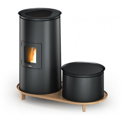 Stufe Cadel Bistro3 Lounge Stufa Pellet Design 6,5kW 7016054