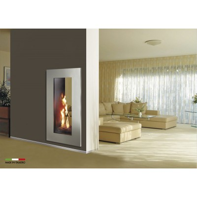 Italkero Portofino 50C Tunnel whit Frame Gas Fireplace IN04ATC