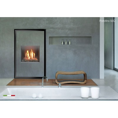 Italkero Portofino 50Q Single Side Grill-less Gas Fireplace IN04AMQ