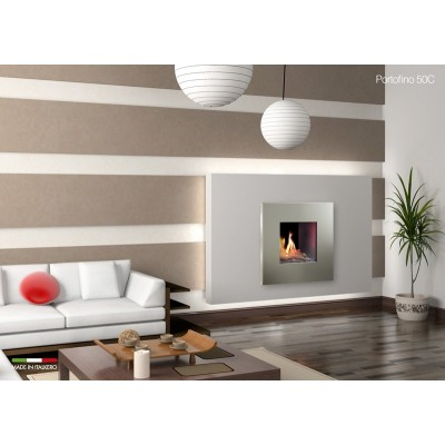 Italkero Portofino 50C Single Side whit Frame Gas Fireplace IN04AMC
