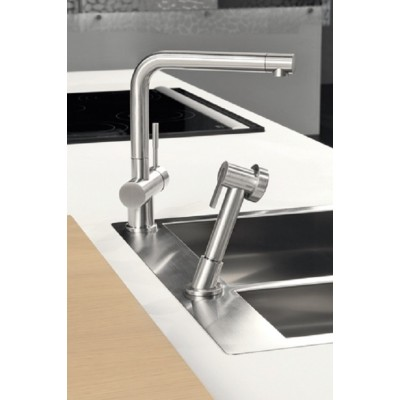 Gessi Oxygene kitchen single-lever mixer 16556