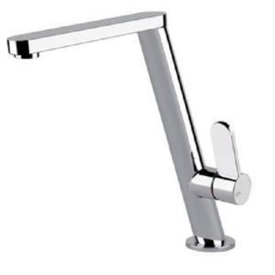 Gessi Kitchen Mixers sink sloping mixer with swivelling spout 17101