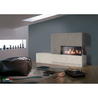 Italkero Venezia 90 Single Sided Frameless Gas Fireplace IN09AM