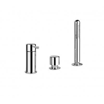 Gessi Goccia Three-hole bath tap 33638
