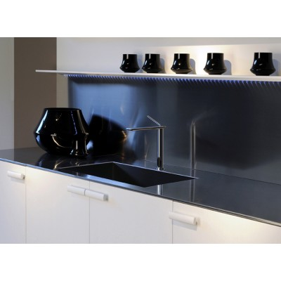 Gessi Ispa Kitchen Mixers sink mixer swivelling spout 38512