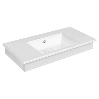 Gessi Eleganza Wall-mounted or counter-top console 46815