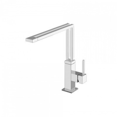 Gessi Kitchen Mixers sink mixer with swivelling spout 50013