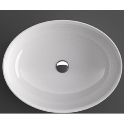 Agape 661 oval-shaped over countertop sink ACER0661