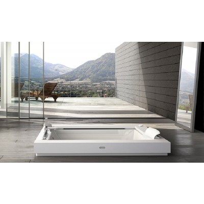 Jacuzzi Bagno Bathtubs aura plus corian bathtub 9443-730
