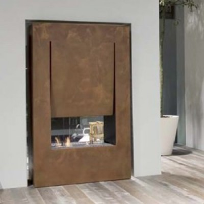 Antonio Lupi Canto Del Fuoco double faced fireplace CANTOB144
