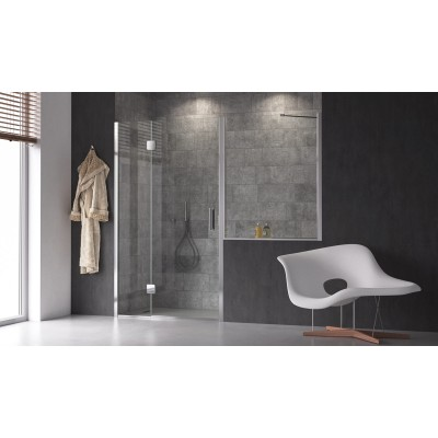 Calibe Silis Shower Enclosure door +above the wall 799SIL+600MUR