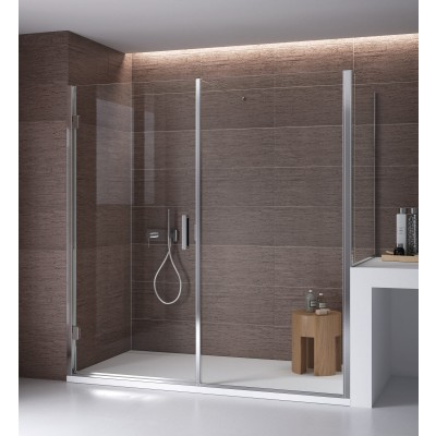 Calibe Bithia Shower Enclosure wall+above the wall side 296BIT