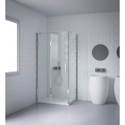 Calibe Thiesi Shower Enclosure door+fixed side on line 849THS