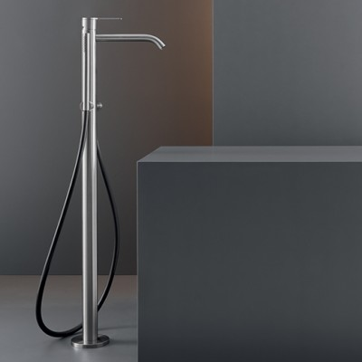 Cea Design Free-standing hydroprogressive tap for bathtub with hand shower ZIQ51S + built - in part INC01