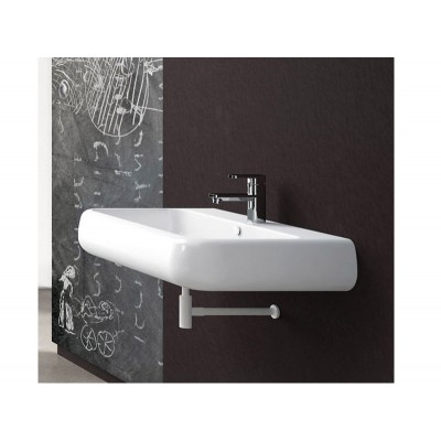 Cielo Shui single hole suspended or top mount sink SHLS66
