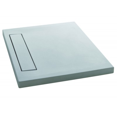 Cielo SESSANTA rectangular shower tray 80x100x6cm PDREG80100