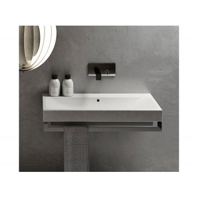 Cielo SMILE suspended, on top or built in sink SMLA100