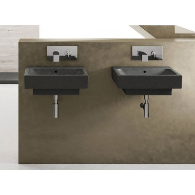 Cielo Smile square sink SMLA48
