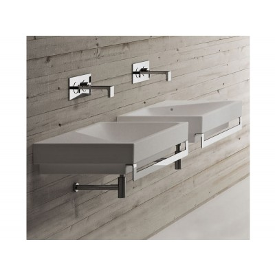 Cielo SMILE suspended, on top or built in sink SMLA75SX