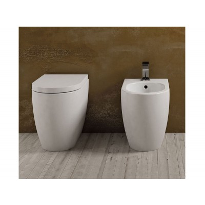 Cielo Smile NEW Freestanding Sanitary WC+Bidet SMVAS+SMBID