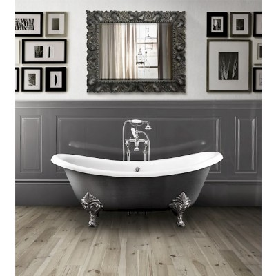 Devon&Devon Cheriè Iron Effect Bathtubs cast iron bathtub 2MRCHERIEVIRALFL