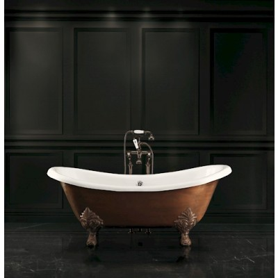 Devon&Devon Cheriè Copper Effect Bathtubs cast iron bathtub 2MRCHERIEVARFL