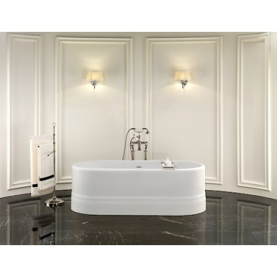 Devon&Devon Diva Bathtubs bathtub in white tec 1NADIVA