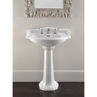 Devon&Devon Oxford Washbasins washbasin on pedestal IBLG(1-2-3)FOFX