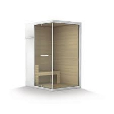 HAFRO ETHOS SERIES SAUNA+SHOWER SPACE 295X150XH.215 CORNER/WALL VERSION SX