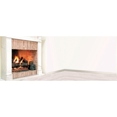 British Fire Real Fire fireplace stand burner  GREALF45MTL