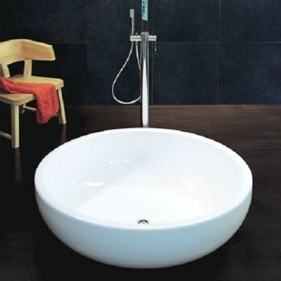 Flaminia Fontana bench shower-tub in Pietraluce FN135