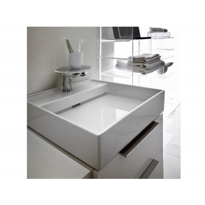 Kartell by Laufen white on top sink 8.1533.1.000