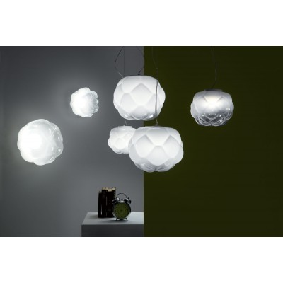 Fabbian Cloudy F21 Lamps Suspension Lamp F21A0171