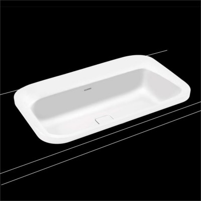 Kaldewei Centro Semi Recessed Sinks Built-in Sink 3021