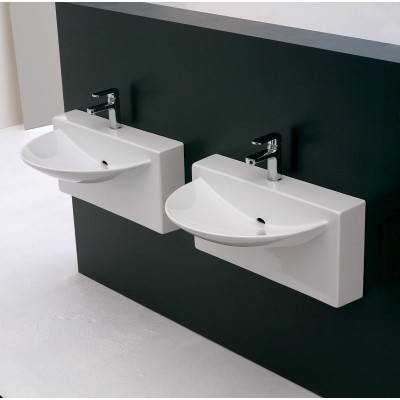 Artceram One Shot-Wall System wall-hung sink WLL002 01;00