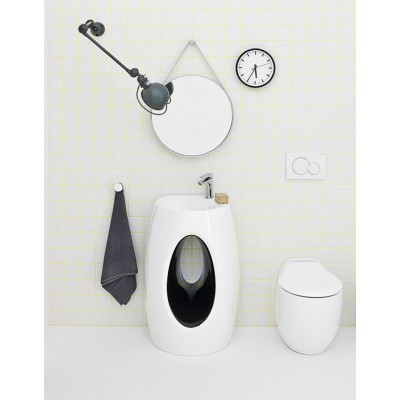 Artceram One Shot-Hall back to wall sink HLL001 01;50