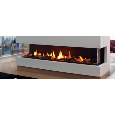 Fireplaces British Fire Panorama 150 Gas Fireplace GPANO150XTX