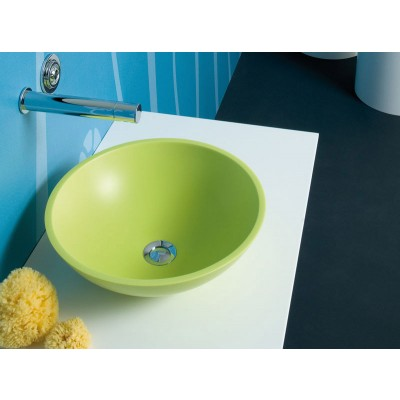 Planit Concave countertop sink in Corian CONCAVE1