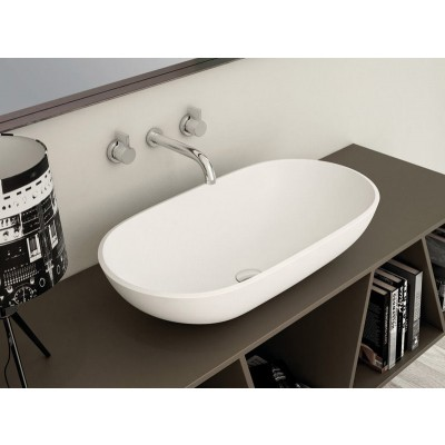 Planit Concave countertop sink in Corian CONCAVE3