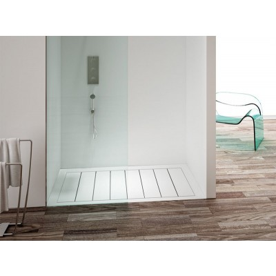 Planit DOGA Corian shower tray selectable size DOGA2