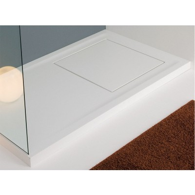 Planit Quadro Corian shower tray selectable size QUADRO