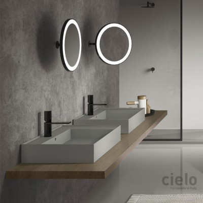 Cielo Arcadia Pluto mirror without led PLSP