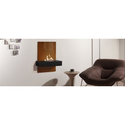 Fireplaces British Fire Queo Modern Fireplace BQUE4114RAF