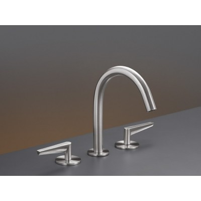 Cea Flag Three-hole hydroprogressive tap with swivelling spout FLG03S