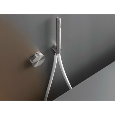 Cea Design Giotto Wall mounted progressive tap set for bathtub/shower GIO24WS + recessed part PTR03