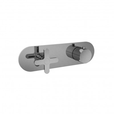 Fantini Icona Classic Thermostatic shower tap R272B+D272A