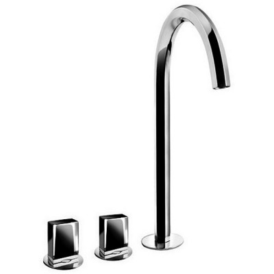 Fantini Venezia Taps 3-hole high washbasin tap N405SW