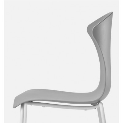Infiniti Design Glossy Chairs 4 legs