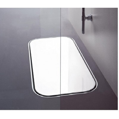 Zucchetti Kos Geo Tray shower tray in methacrylate 4G4BICR0